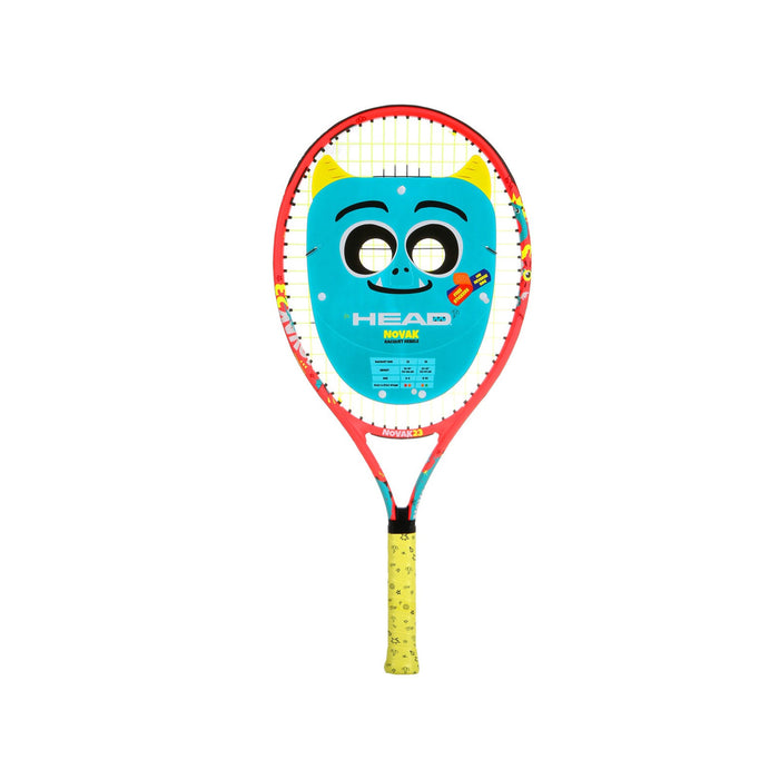 head novak 25 jr tennis racquet junior 8-10 years old inch