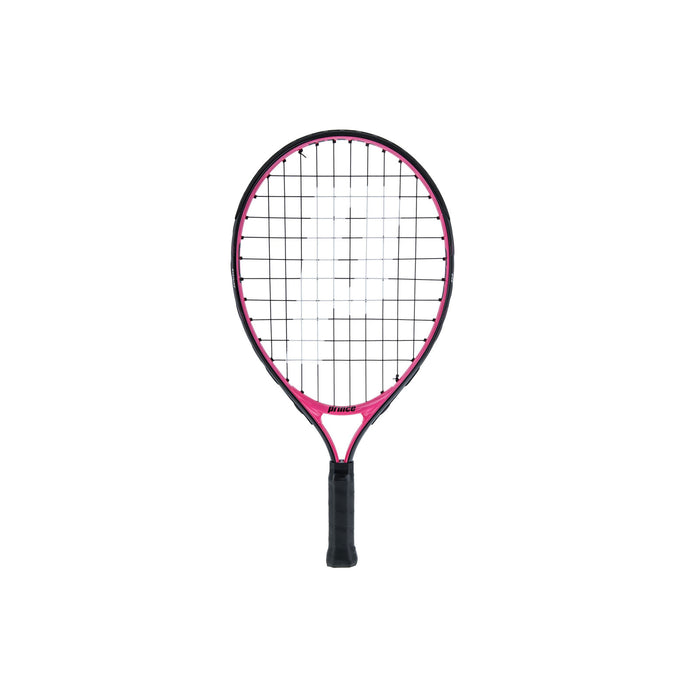 Prince pink 19 juniour tennis racquet ages 5 years and under.