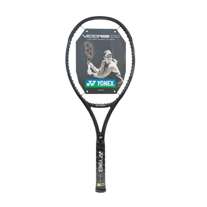 Yonex VCORE 100 300g in Galaxy Black. New for 2019.