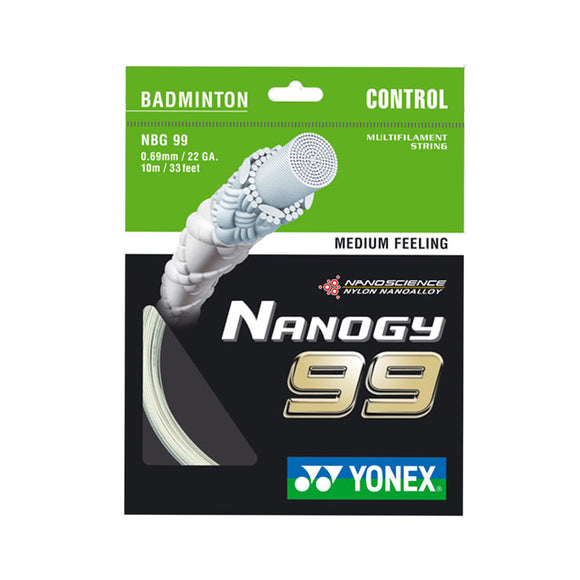 Yonex Nanogy 99 - a string for badminton players seeking cut and control