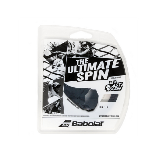 Babolat RPM Blast Rough polyester string 17g tennis spin