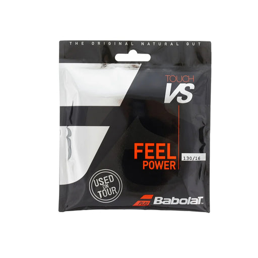 Babolat Touch vs natural gut tennis string performance feel 1.30mm 130/16 16g
