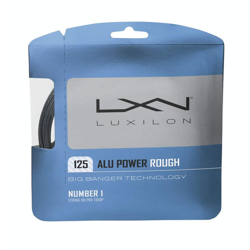 Luxilon alu power rough 125 17g tennis string polyester spin atp pro's best hybrid