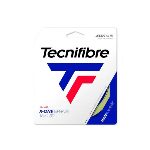 Tecnifibre X one biphase 16 tennis string soft multifilament power gut like feel