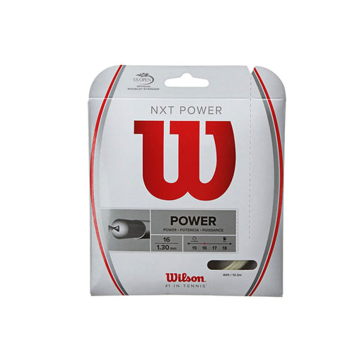 Wilson nxt power 16 multifilament tennis string gut like power and feel