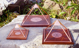 Copper Meru Pyramids with Yantra