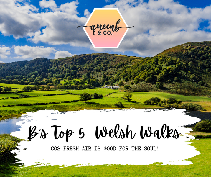 Queen B's Top 5 Welsh Walks