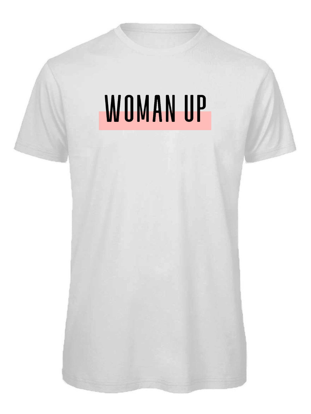 WOMAN UP | T Shirt - Queen B and Co.