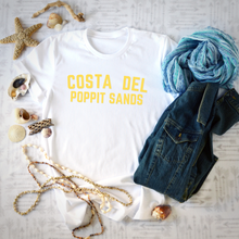 Load image into Gallery viewer, COSTA DEL POPPIT SANDS | T Shirt - Queen B and Co.
