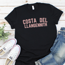 Load image into Gallery viewer, COSTA DEL LLANGENNITH | T Shirt - Queen B and Co.