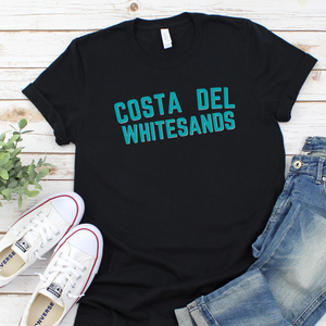 COSTA DEL WHITESANDS | T Shirt - Queen B and Co.