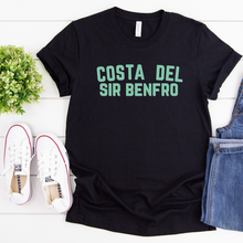 Load image into Gallery viewer, COSTA DEL SIR BENFRO | T Shirt - Queen B and Co.