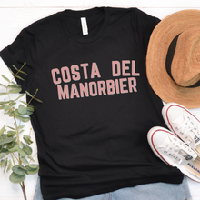 Load image into Gallery viewer, COSTA DEL MANORBIER | T Shirt - Queen B and Co.