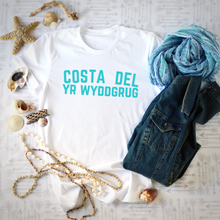 Load image into Gallery viewer, COSTA DEL YR WYDDGRUG | T Shirt - Queen B and Co.