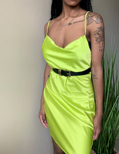 Sublime Satin Slip Dress