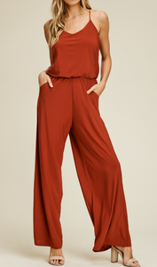 IVE CURVE Sleeveless Jumpsuit