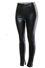 Street Nights Faux Leather Leggings
