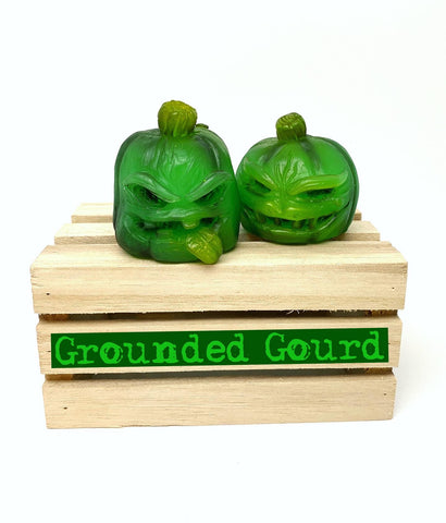 Jack and Jill Mini Pumpkins 2 Pack *Grounded Gourd*
