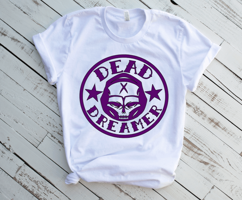 Dead Dreamer T-Shirt (FULL GLITTER PURPLE)