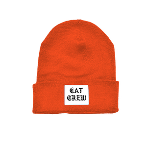 CAT CREW BEANIE (Orange)