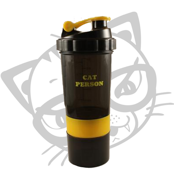 CAT Person Fitness Shaker