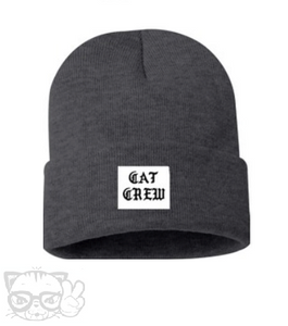 CAT CREW BEANIE (Grey)