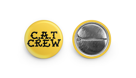 CREW PIN (Yellow)