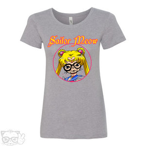 SAILOR MEOW WOMEN'S T-SHIRT