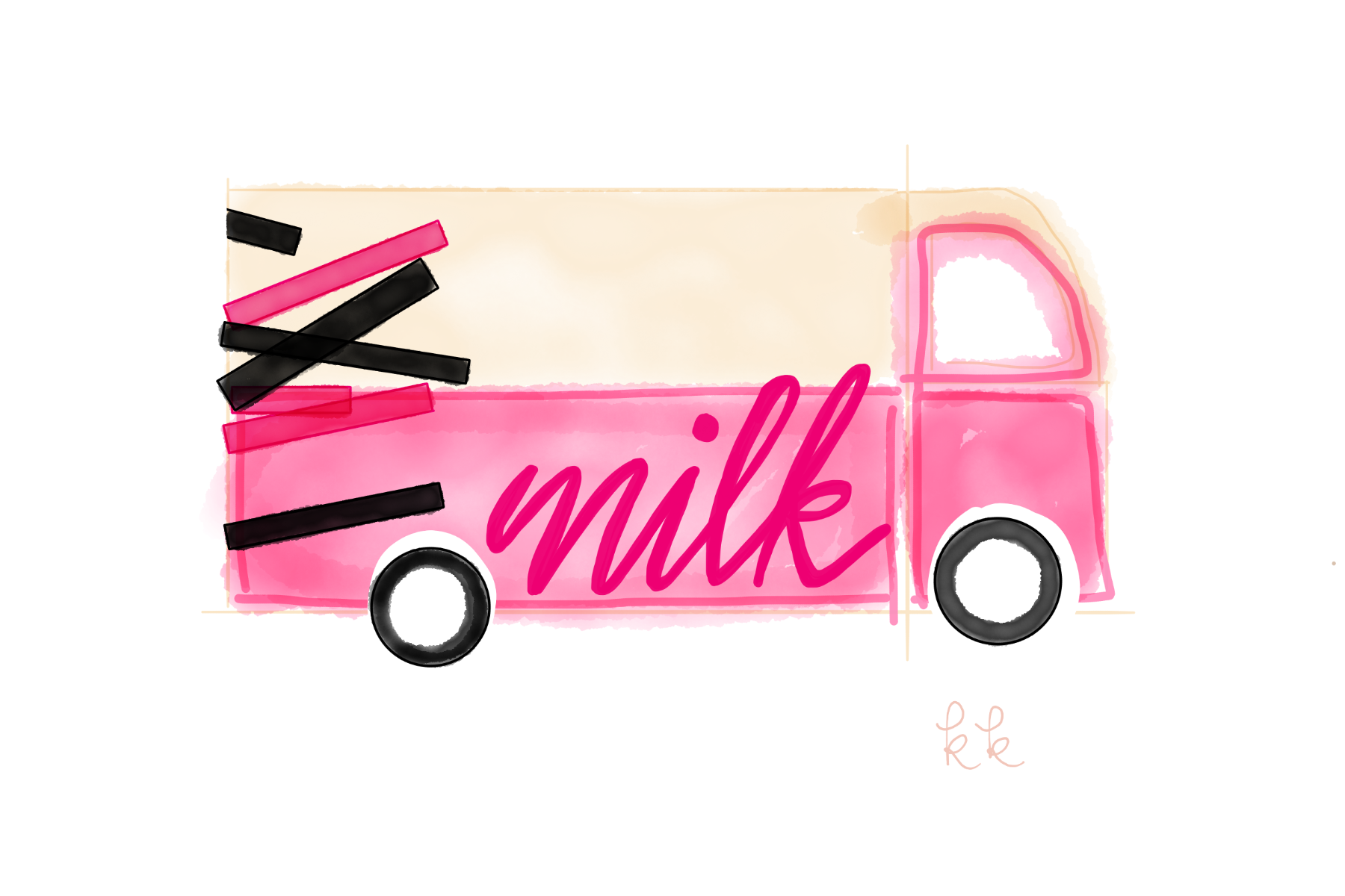 KK Harris Milk Bar Truck at Rockefeller Plaza copyright 2019