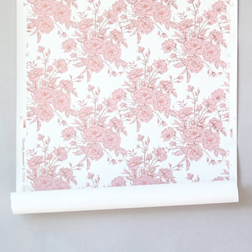 Chantilly Minimalist Wallpaper - Billie Pink