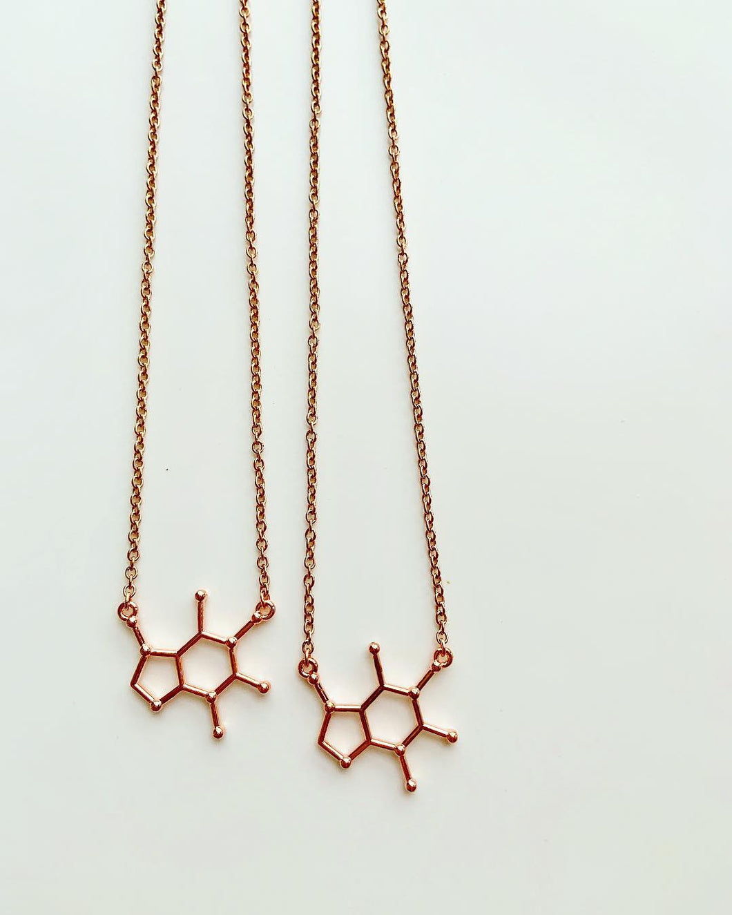 The PreWorkout Necklace in Rose