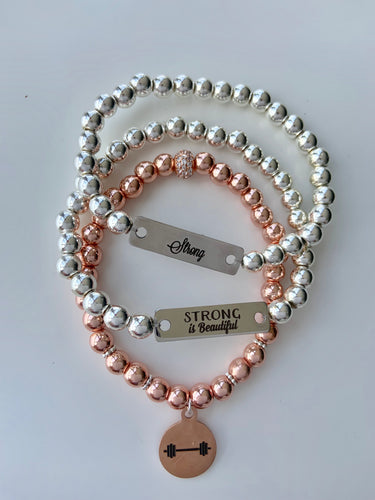 Beautiful & Strong Stretch Bracelets