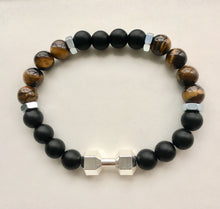 Load image into Gallery viewer, Black & Tigers Eye