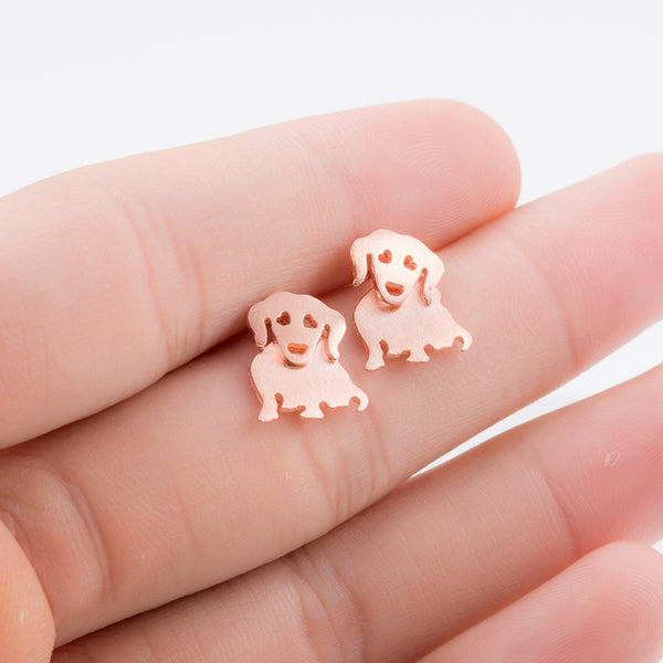 Cute Dachshund Stud Earrings Bulldog Stud Earrings