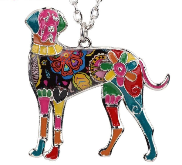 Great Dane Jewelry - Pendant Necklace