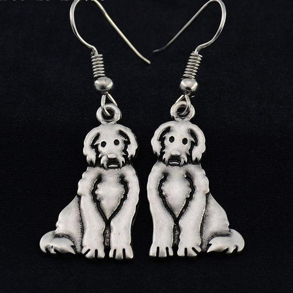 Goldendoodle Drop Earrings