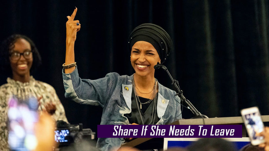 "Ilhan Omar: Americans Treat Illegals Horrible ""Worse Than Dogs"" Because we are RACIST!"