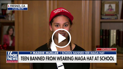 School Bans Girl From Wearing MAGA Hat [Watch]