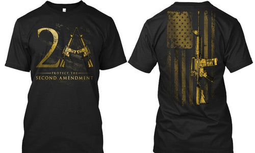 2nd Amendment Rifle Tee