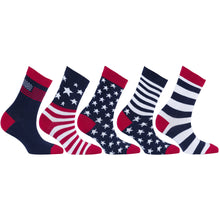 Load image into Gallery viewer, Women's Size Patriot Socks
