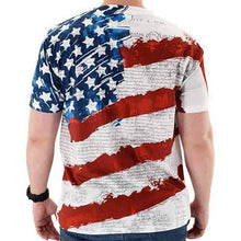 Load image into Gallery viewer, Constitution Sublimation Print Mens Tee - The Flag Shirt