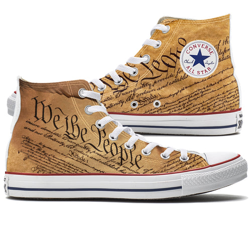 We The People Converse Shoes