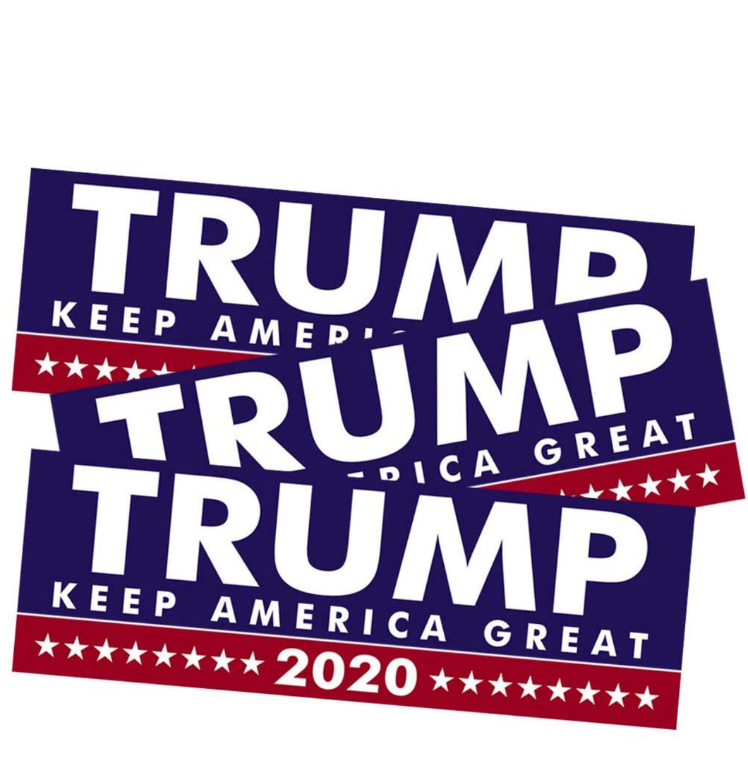 Trump Keep America Great Bumper Stickers 100 Pack