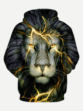 Load image into Gallery viewer, Trump 3D Lion Print Hoodie