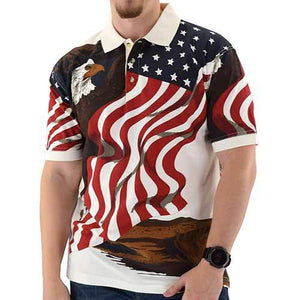 American Eagle Polo Shirt - The Flag Shirt