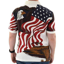 Load image into Gallery viewer, American Eagle Polo Shirt - The Flag Shirt