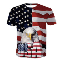 Load image into Gallery viewer, USA 3D Tee