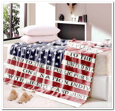 Pledge of Allegiance Blanket