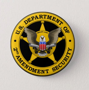 2nd Amendment Yellow Button
