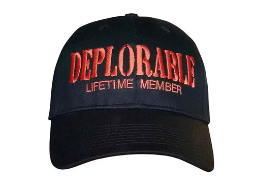 FREE Deplorable Lifetime Member Hat